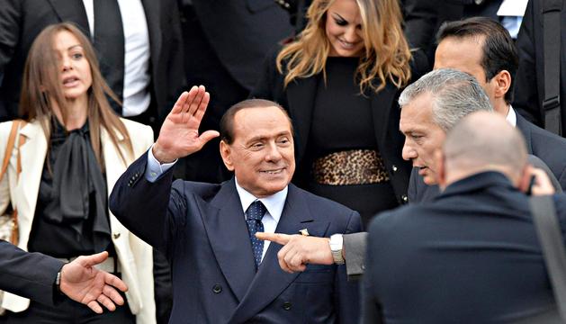 Silvio Berlusconi regresa a Forza Italia, el partido con el que entró en política en 1994