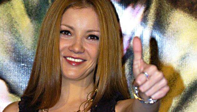Fotografía de archivo del 25 de septiembre de 2007, de a la actriz mexicana Karla Álvarez