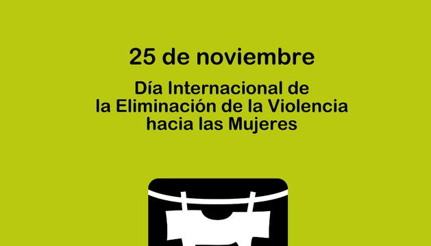 Cartel de la campaña impulsada con motivo del Día internacional contra la violencia de género