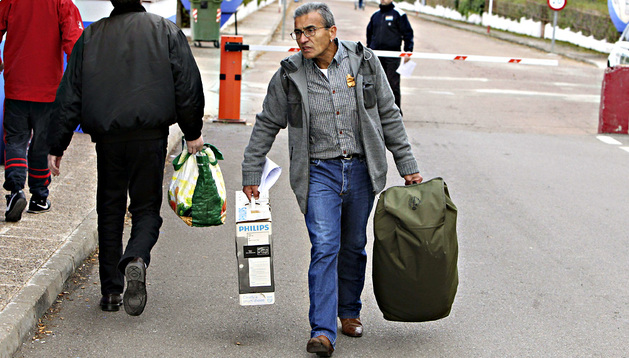 Jaime Simón Quintela, a su salida de prisión