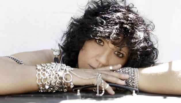 La cantante canaria Rosana
