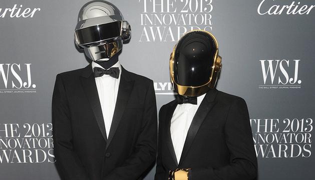 El dúo francés Daft Punk.