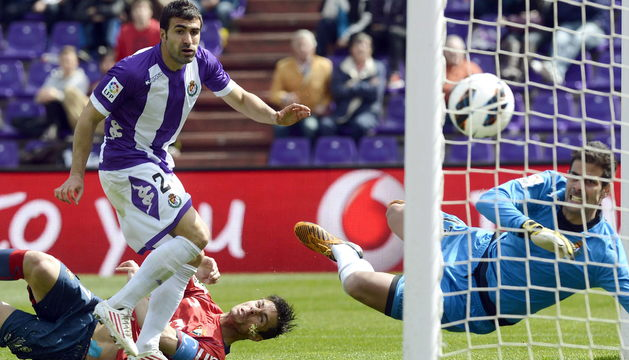 Imagen del Valladolid-Osasuna de la pasada temporada