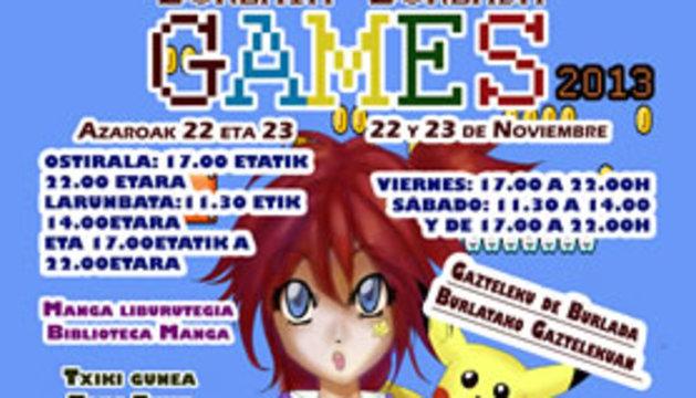 Imagen promocional de Burlada Games 2013