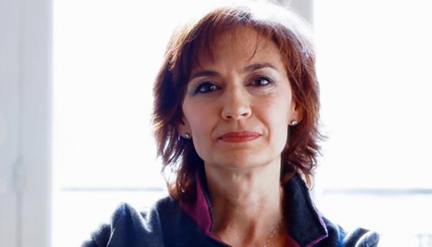 Marta García, expresentadora de