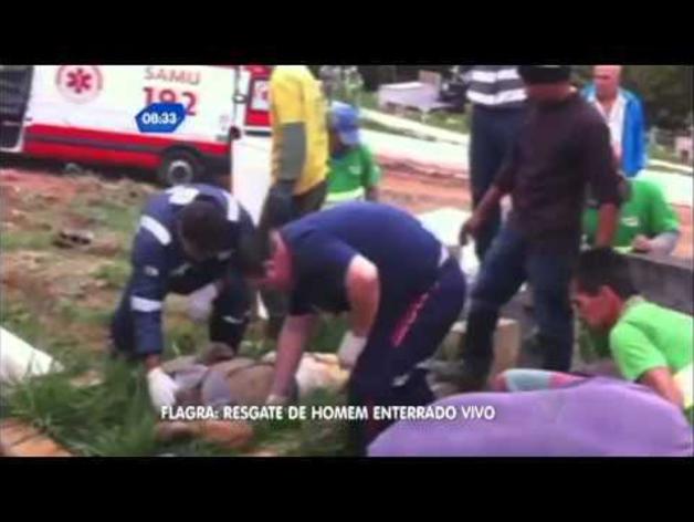 Enterrado vivo en Sao Paulo (Brasil)