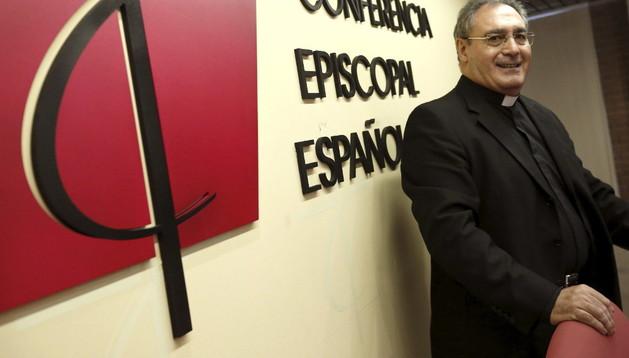 Gil Tamayo, secretario general y portavoz de la Conferencia Episcopal Española