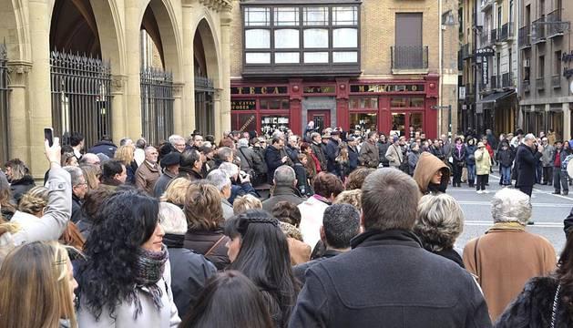 El Orfeón Pamplonés y la Pamplonesa han animado el sábado con motivo de Santa Cecilia, patrona de los músicos