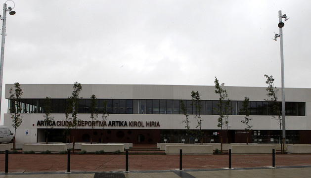 Imagen de archivo de las instalaciones deportivas de Berrioplano en Artica