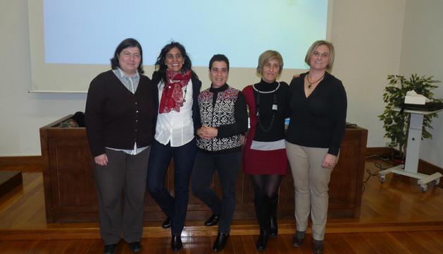 Varias participantes en el proyecto