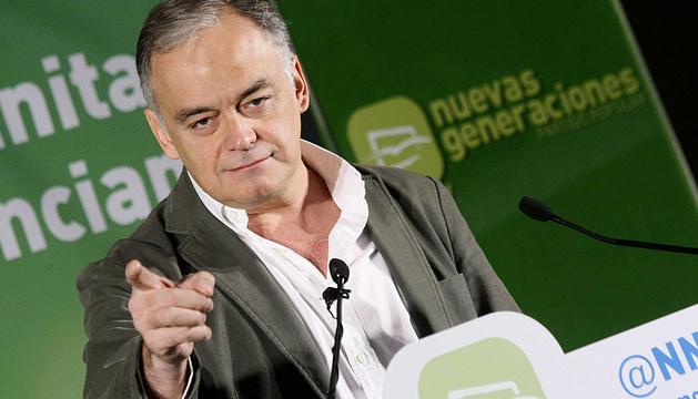 González Pons, en Alcoy.