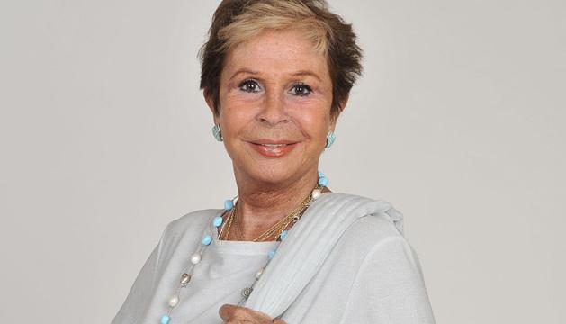 La actriz Lina Morgan.