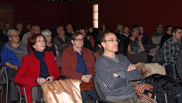 Asistentes a la charla celebrada el pasado sábado en el Palacio Decanal de Tudela