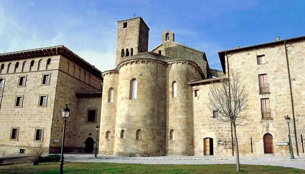 El monasterio de San Salvador de Leyre