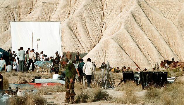 El rodaje fallido de 'El hombre que mató a Don Quijote'