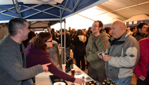 Una decena de maestros cerveceros ofreció sus productos en la primera edición de la feria Esparto Beer