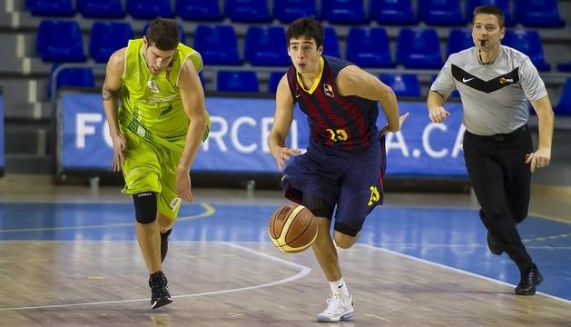 Planasa Navarra pierde ante el Barcelona B y se coloca colista