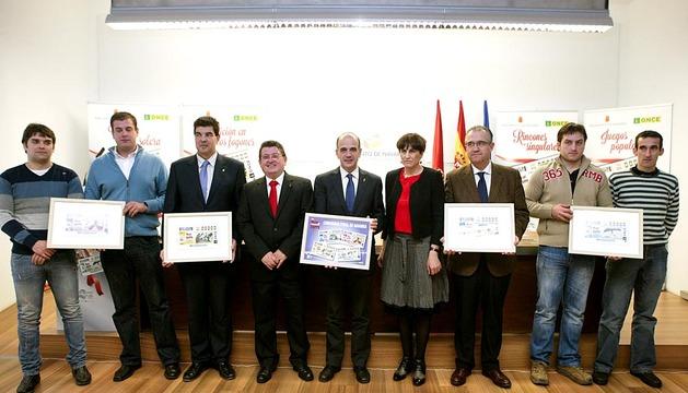 La ONCE dedica 4 cupones a Navarra