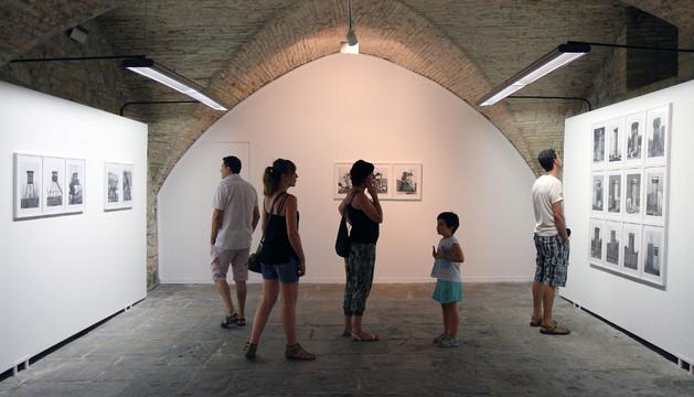 Exposición en el pabellón de mixtos de la Ciudadela en julio de 2013