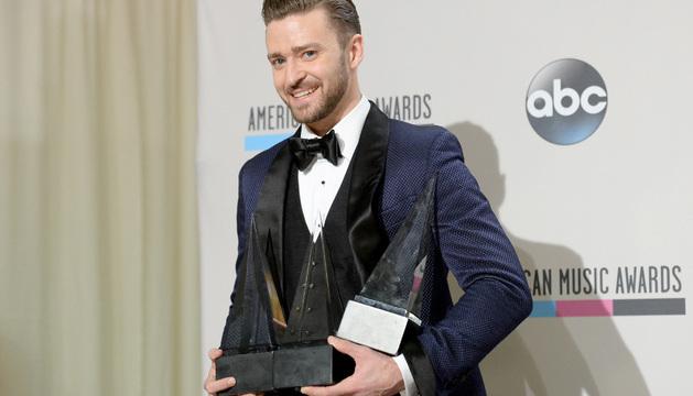 Timberlake conquista los American Music Awards y se lleva tres de los cinco galardones a los que estaba nominado