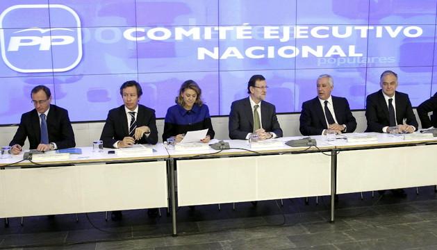 Reunión del Comité ejecutivo nacional del PP el lunes
