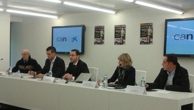 Presentación de la XXXI San Silvestre de Pamplona