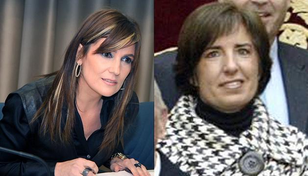 Las galardonadas Laura Sandúa y María Puy