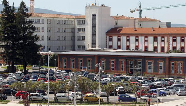 Aparcamiento de hospitales. ARCHIVO