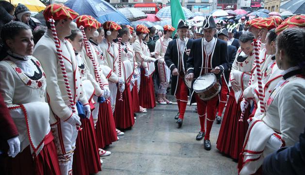 Imagen de la festividad de San Saturnino el año 2012