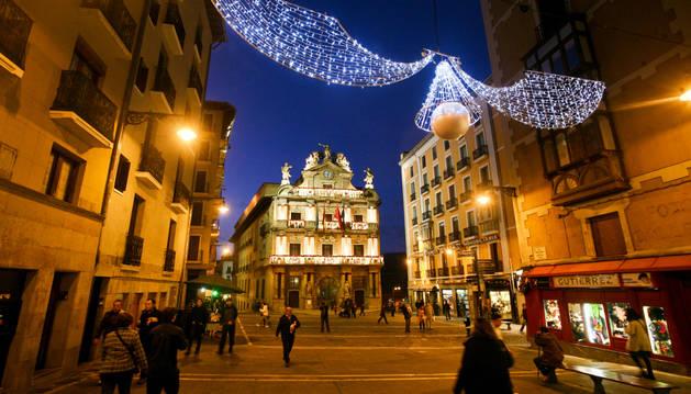 Estreno de las luces de Navidad en 2011