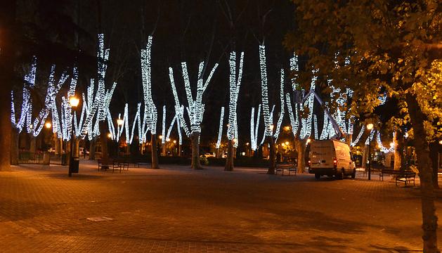 Encendido navideño Pamplona 2013