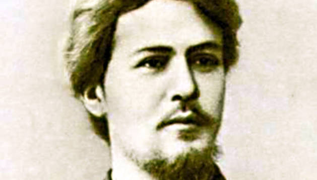 El escritor Anton Chejov