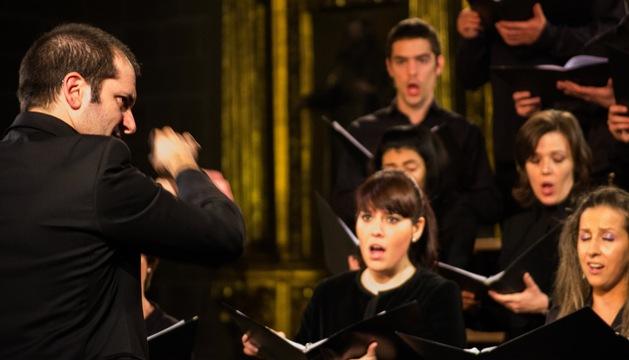 El conjunto vocal Nova Lux Ensemble