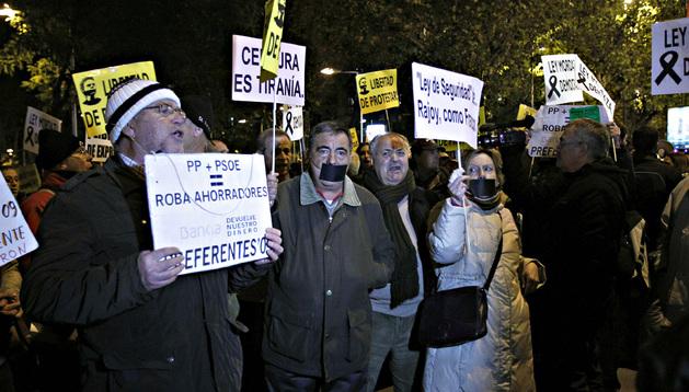 Protestas este viernes en Madrid contra la nueva ley