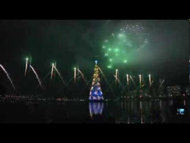 La Navidad arranca en Río de Janeiro