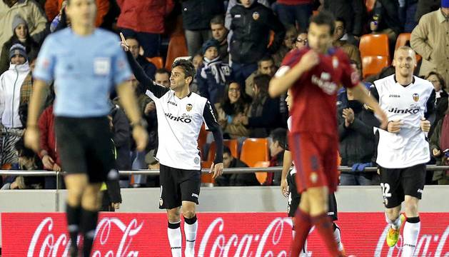 Imágenes del partido disputado este domingo en Mestalla
