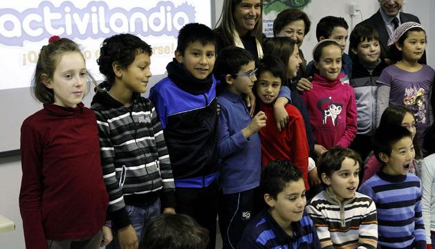 La ministra de Sanidad, Ana Mato, durante la presentación de Activilandia