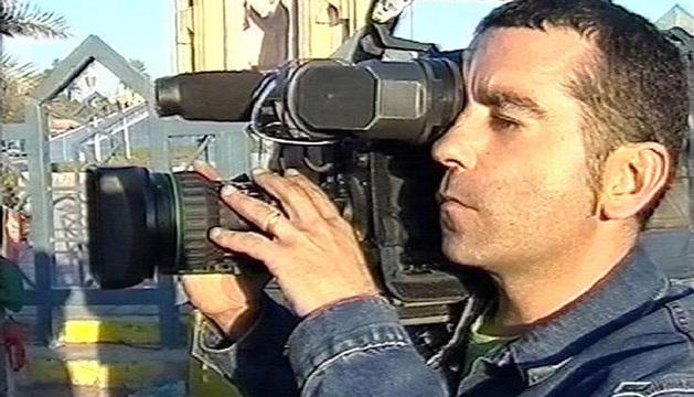 El cámara de Telecinco José Couso murió el 8 de abril de 2003 a causa de un disparo mientras tomaba imágenes desde el hotel Palestina de Bagdad.