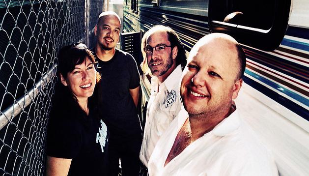 Los componentes del grupo de Boston Pixies