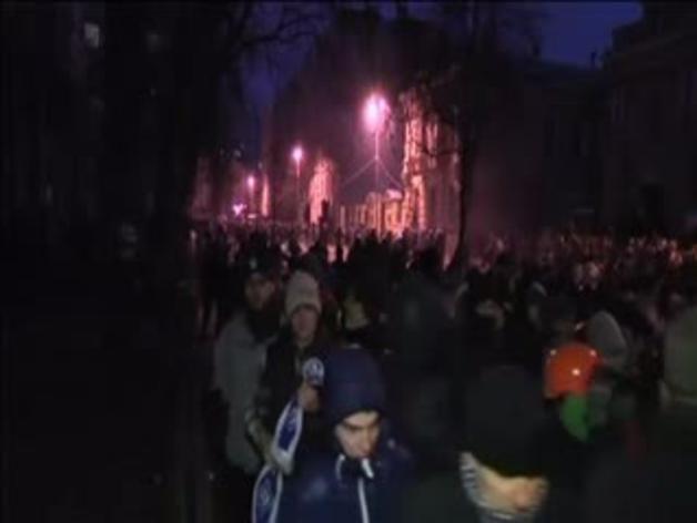 Continúan las protestas en Ucrania