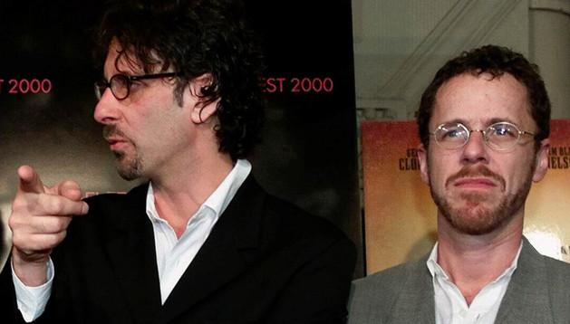 Los hermanos Coen en el año 2000