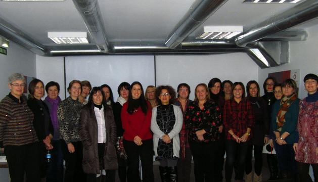 Varias de las mujeres participantes en el Programa Aurora
