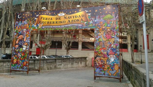 Feria de Navidad de la plaza de toros de Pamplona