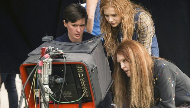 La directora de la película