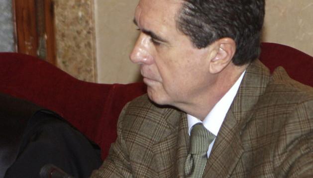 El expresidente del Gobierno Balear, Jaume Matas, durante el juicio que se está celebrando contra él