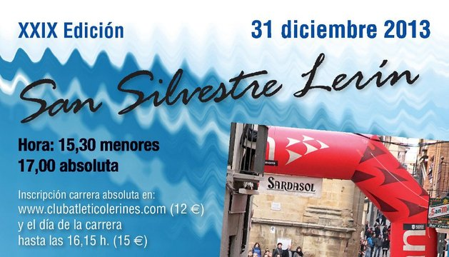 Cartel San Silvestre Lerín