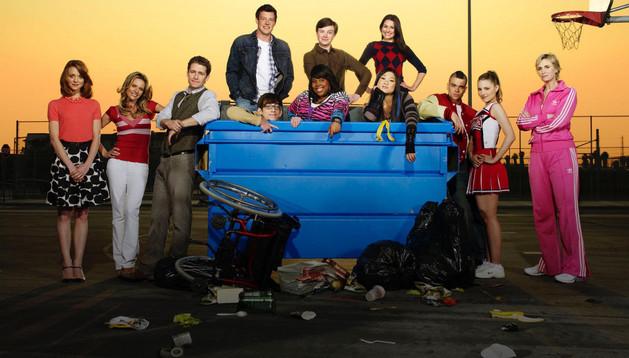 El elenco de 'Glee' en sus primeras temporadas