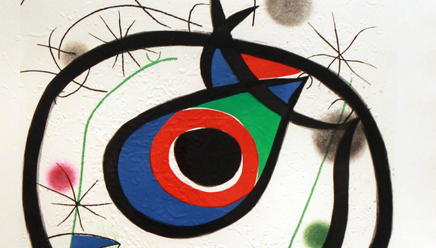 'Galatea', de Joan Miró