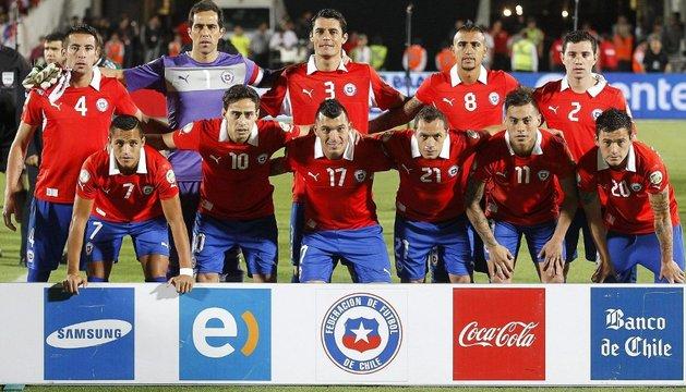 El combinado nacional de Chile