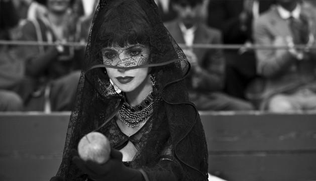 Maribel Verdú, como madrastra en el filme 'Blancanieves'